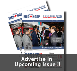 Upcoming Issue of Medhosp Africa 2015