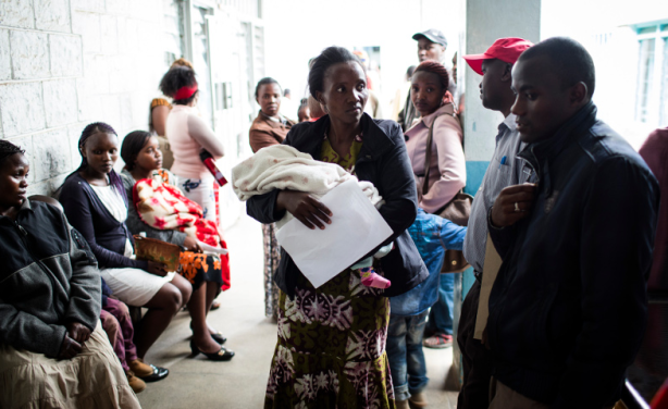 Mgabathi Hospital in Nairobi