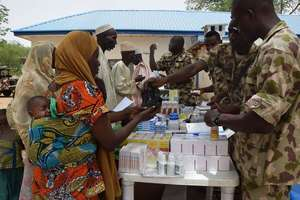 Nigeria: NAF Provides Free Medical Services to 400, 000 IDPs