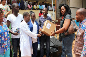 Cummings Foundation Donates Medical Supplies to Hospitals in Liberia