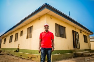 Johns Hopkins grad from Nigeria wants to help hospitals in West Africa go digital