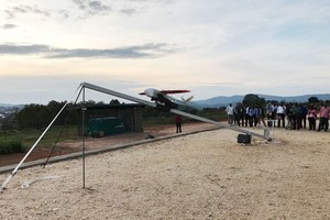 BLOOD-CARRYING, LIFE-SAVING DRONES TAKE OFF FOR TANZANIA