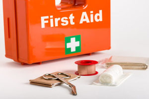 Donate medical supplies for World First Aid Day