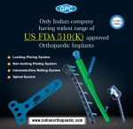US FDA 510(k) Orthopedic Implants